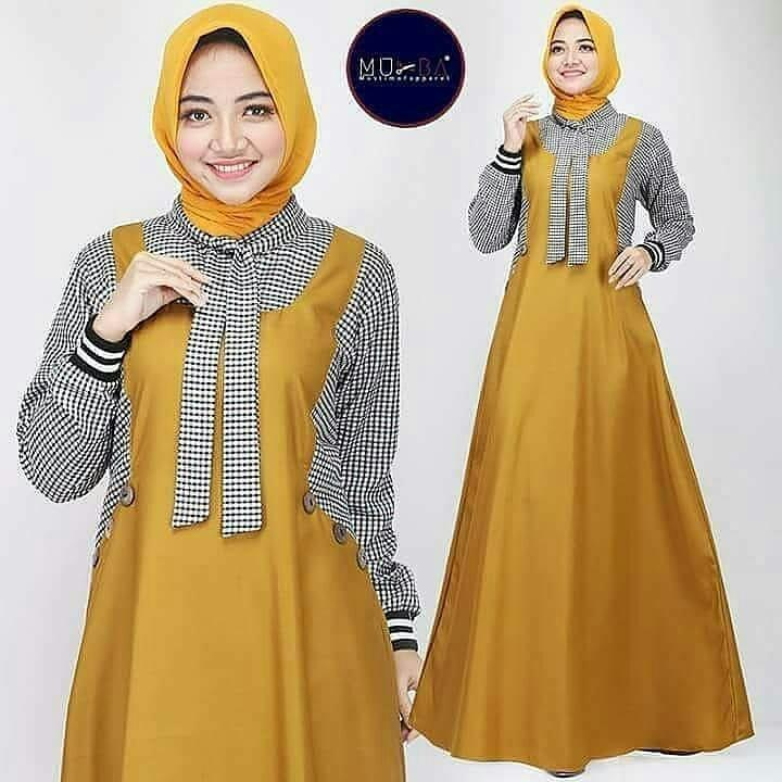 Baju Wanita Excel Dress Balotely Gamis Muslim Panjang Payung Supplier  Pakaian Dewasa Bandung Termurah Fashion Hijab 31ee7559e8