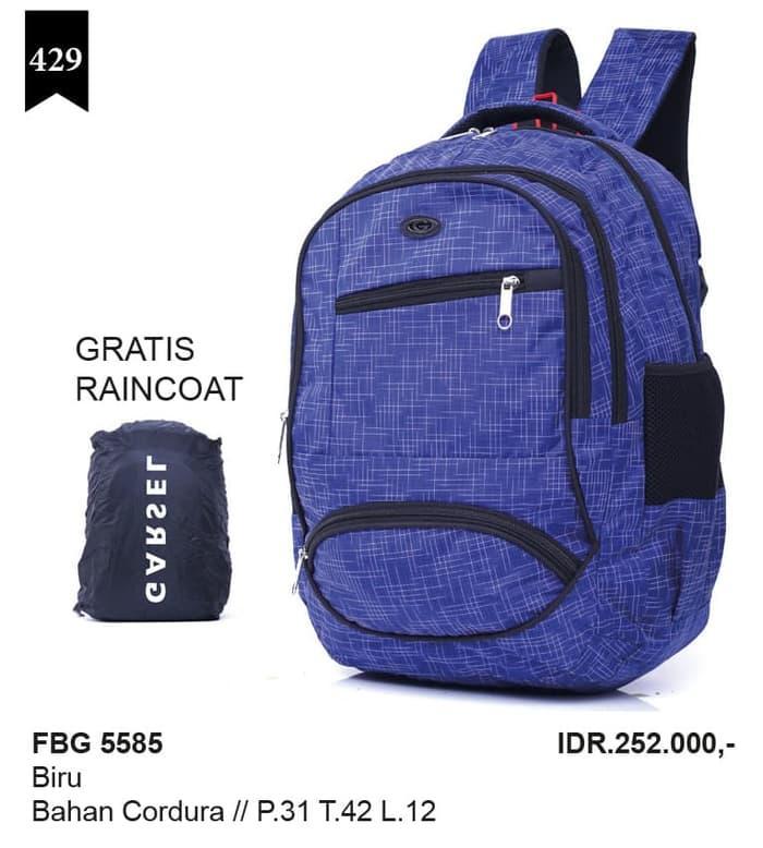 tas ransel murah+rain coat,tas backpack,tas kuliah&kerja FBG 5585 / tas