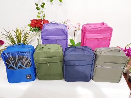 R 0544 - New Generation Korean shoes bags Tas Sepatu Travel Versi 5