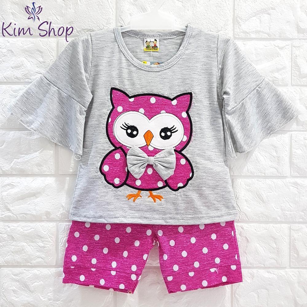 Kim Setelan Baju Anak dan Bayi Perempuan Lucu OWL