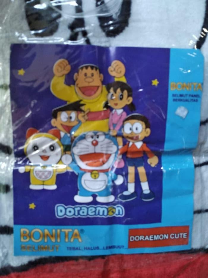 SELIMUT BONITA DORAEMON CUTE BLANKET DOREMON DORAMI NOBITA SUNEO GIANT Exclusive