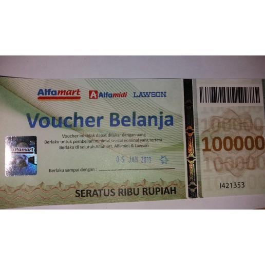 Voucher Alfamart 100Ribu R5331