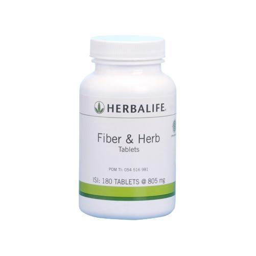 Herbalife Fiber & Herb Tablets - 180 Tablets