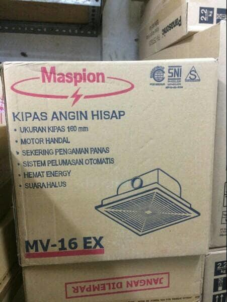 Terbaru!! Hexos Kipas Ventilasi Maspion Mv16Ex - ready stock