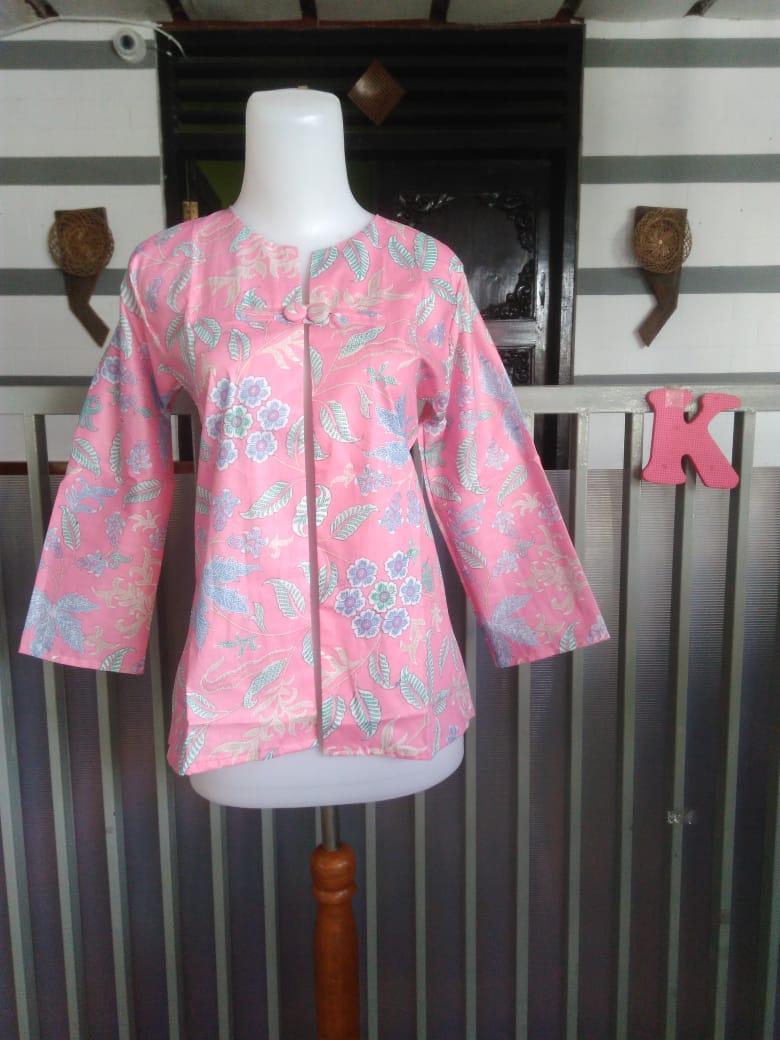 Bolero batik warna pastel size fit L