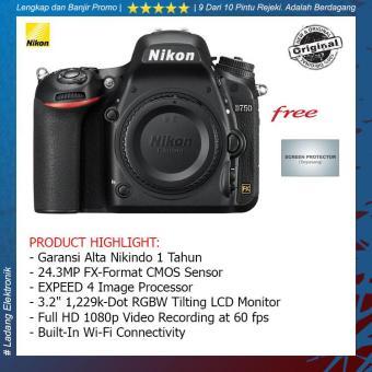 Cheapest Price Nikon D750 Body Only Kamera DSLR ( Free Screenguard Terpasang ) / Garansi Alta Nikindo 1 Tahun - Hitam sale - Hanya Rp27.659.908