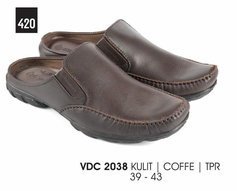 Everflow Sepatu Sandal Pria Coffee - VDC 2038