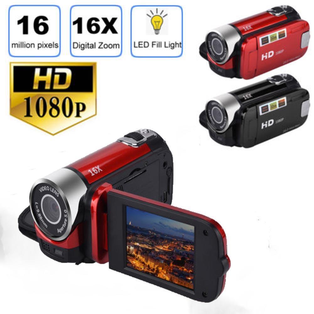 Kamera Perekam, Kamera Perekam Digital 16 Mp Definisi Tinggi 1080 P 2,7 Inci Layar Lcd Tft Zoom 16x, Spesifikasi: Standar Amerika By The Sunnyshop.