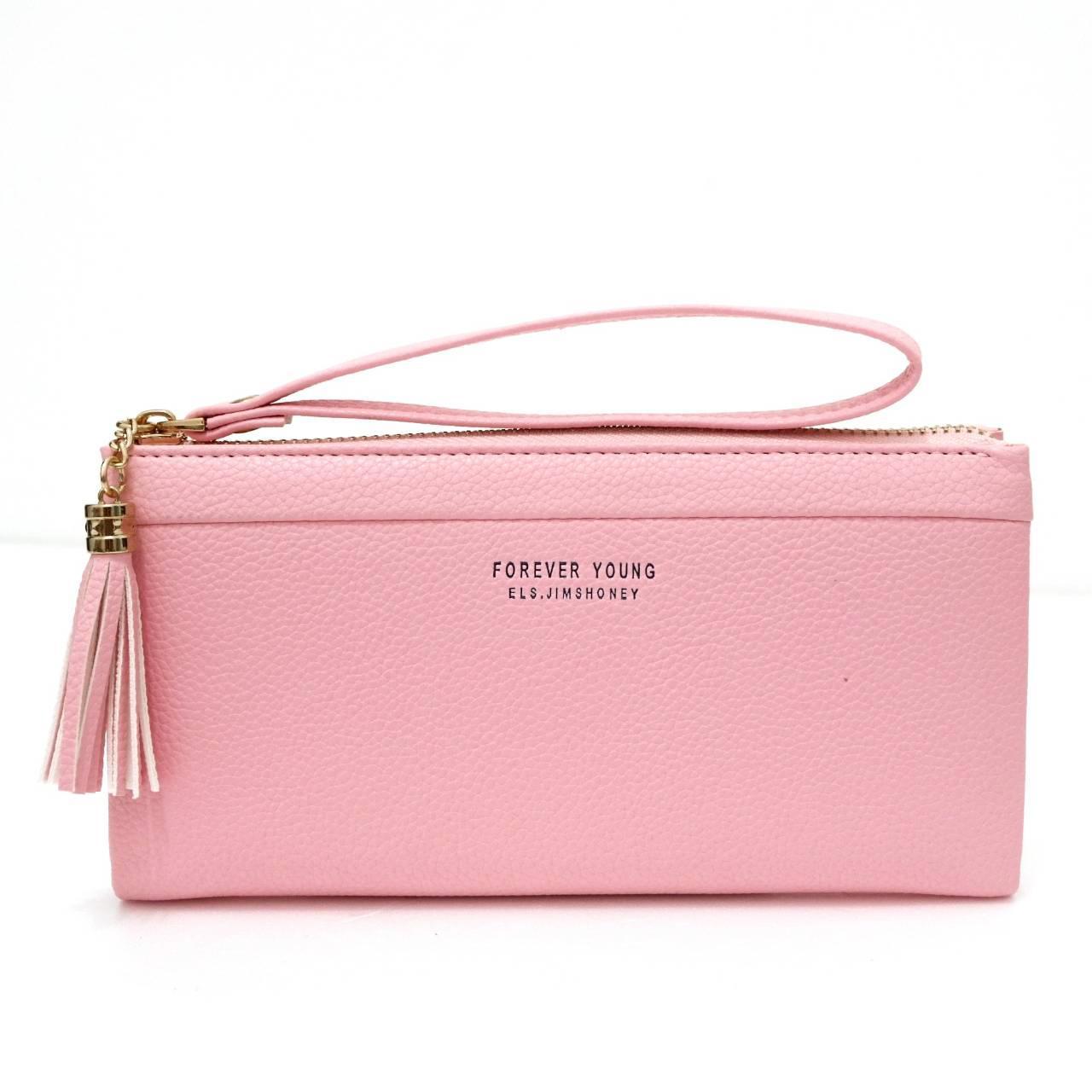 Jims Honey - Simple Fashion Wallet - Samantha Wallet (Softpink)