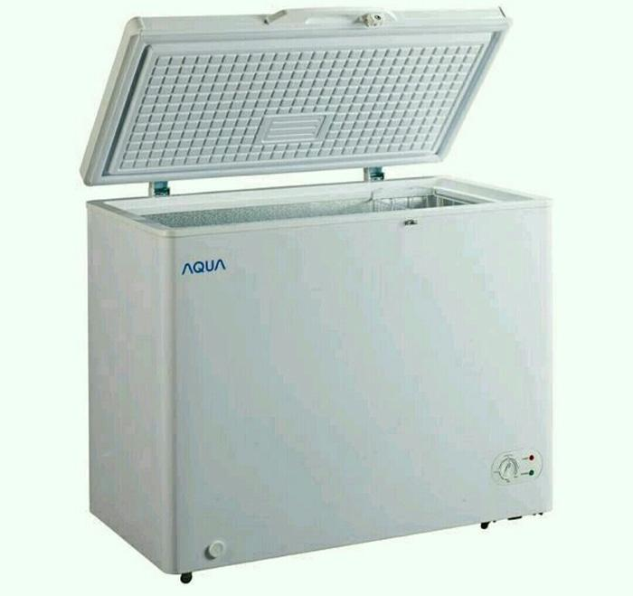 Chest Freezer Aqua Sanyo 200 Ltr AQF-200A - a
