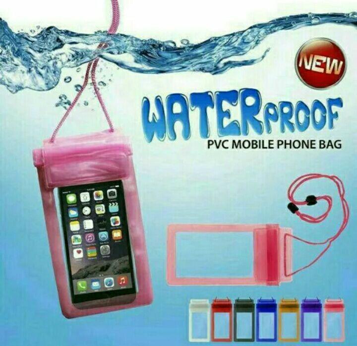 SELALU ADA - Waterproof Bag Under Water Sarung Handphone Anti Air Water Proof Pouch HP - RANDOM COLOUR