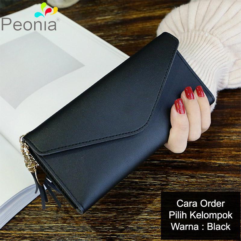 Peonia Korea Fashion Style Dompet Hp Wanita Clutch Panjang for Tassel Heart  Long Series 19794f9409