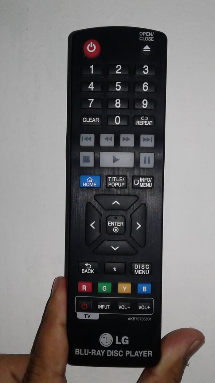 Remot Blu Ray Disc Player Kecil Merk LG ORIGINAL ASLI DISKON