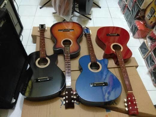 Gitar Akustik Banyak BONUSNYA