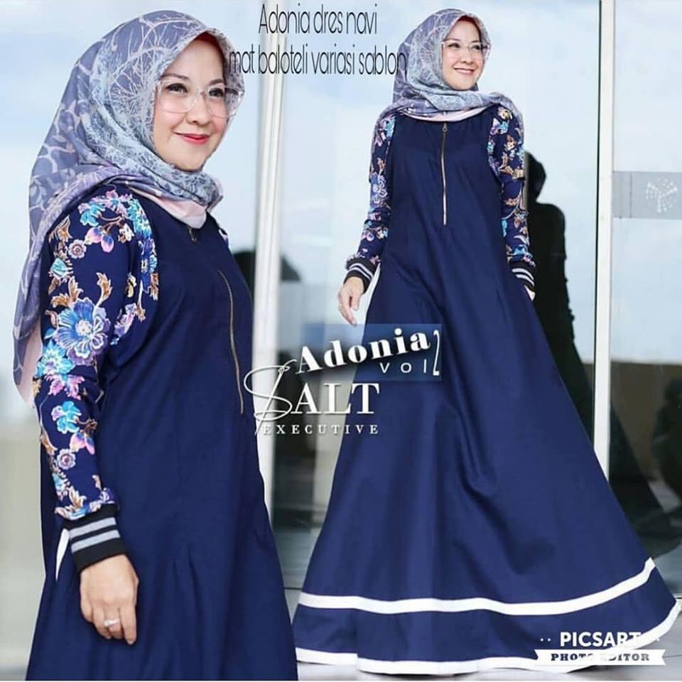 JUAL BAJU MUSLIM REMAJA | Adonia Dress Mustard