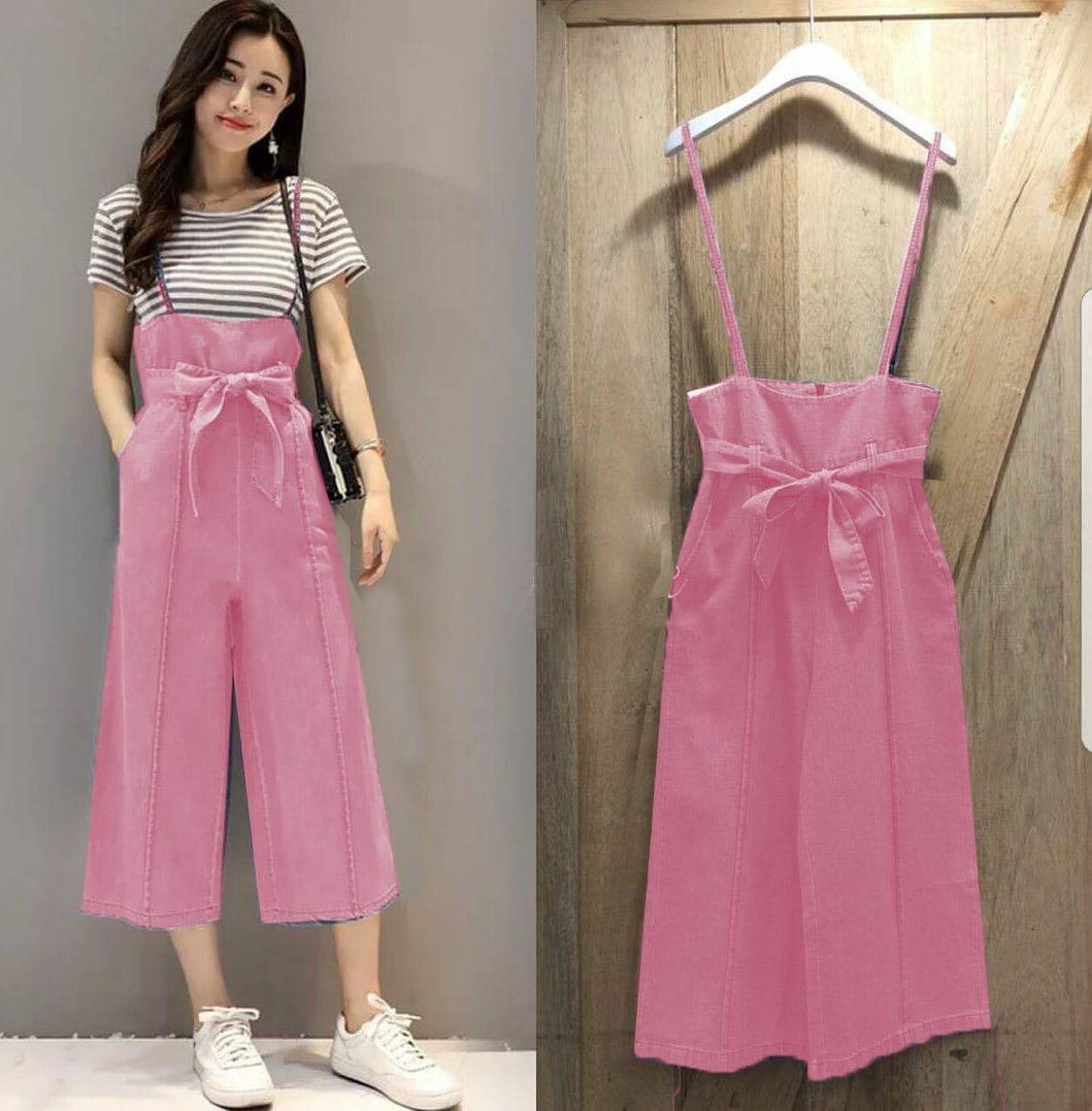 Milea Secret's - Jump Sania Pink - Jumpsuit Trendy
