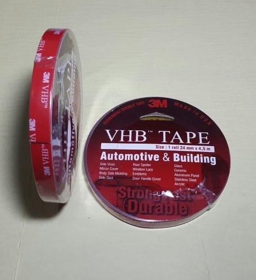 Double Tape 3M VHB Isolasi Ukuran 12 Mm 4 5M Perekat 3M Lem 3M