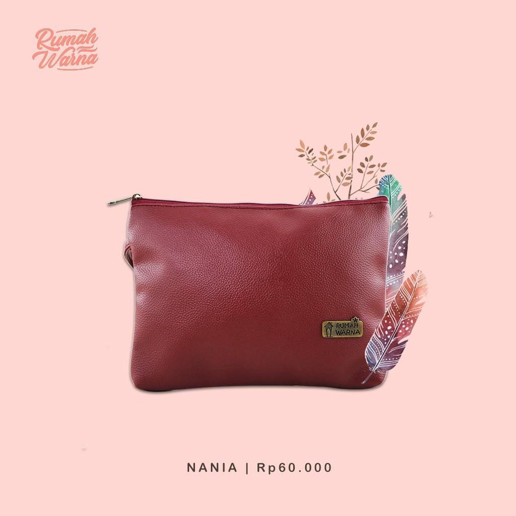 Dompet / Pouch Rumah Warna - Nania