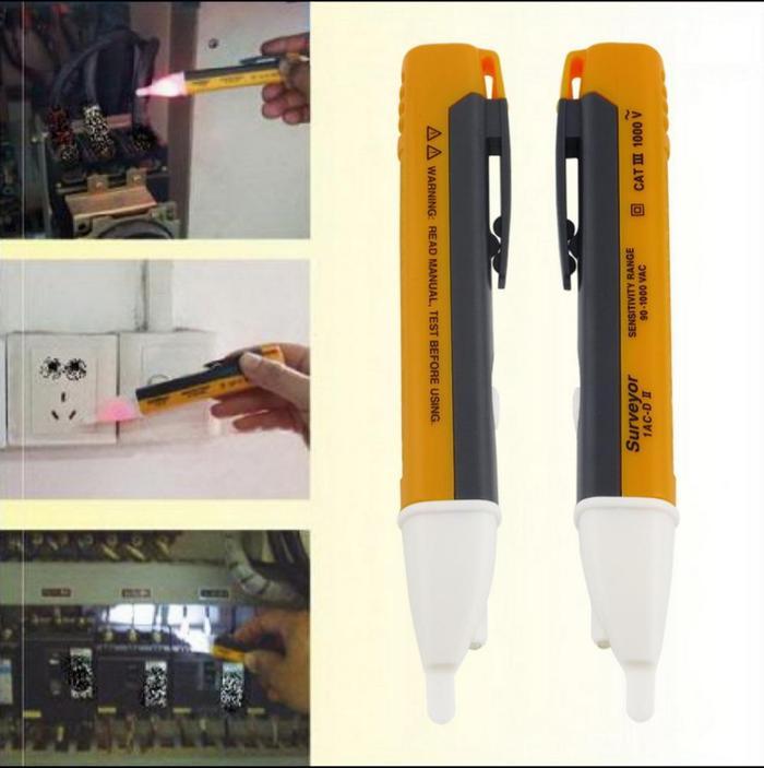 Alat Test Pen Listrik Non Contact Voltage Wireless By Dila Store 279.