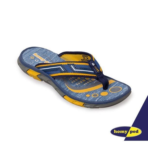 HOMYPED ARSEN 01 Sandal Anak Navy/Yellow