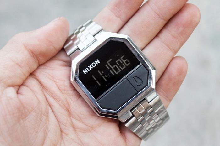 Nixon Rerun Rantai Full Silver| AMO Store