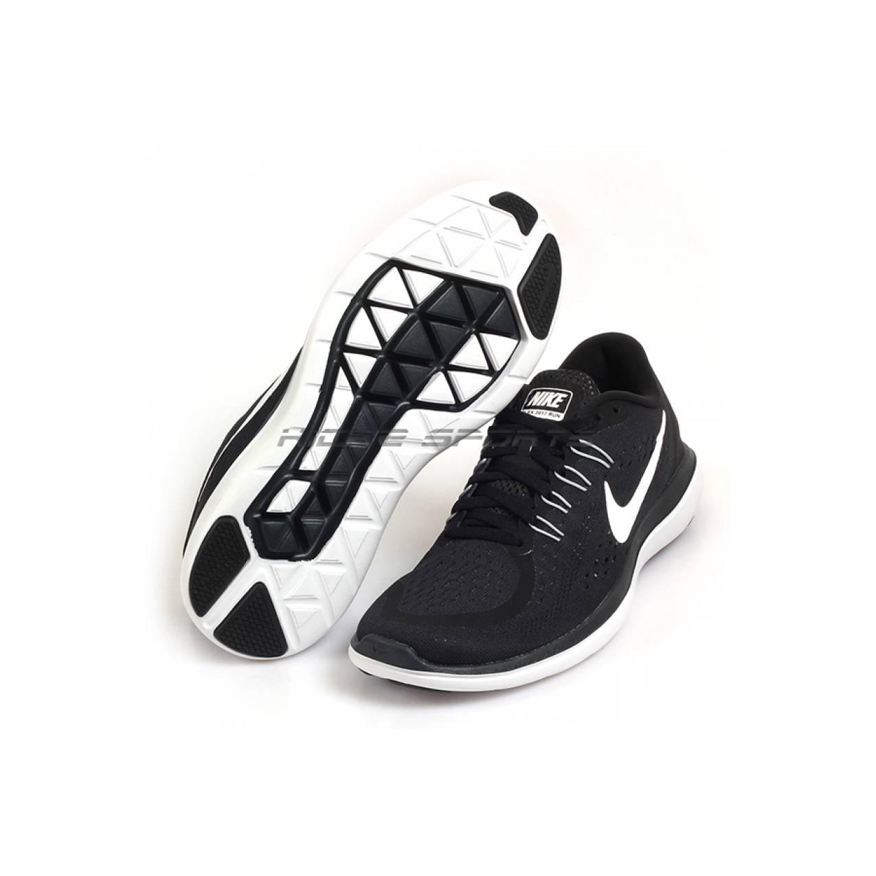 [ORIGINAL] Sepatu RUNNING NIKE WMNS FLEX 2017 898476-001 Black