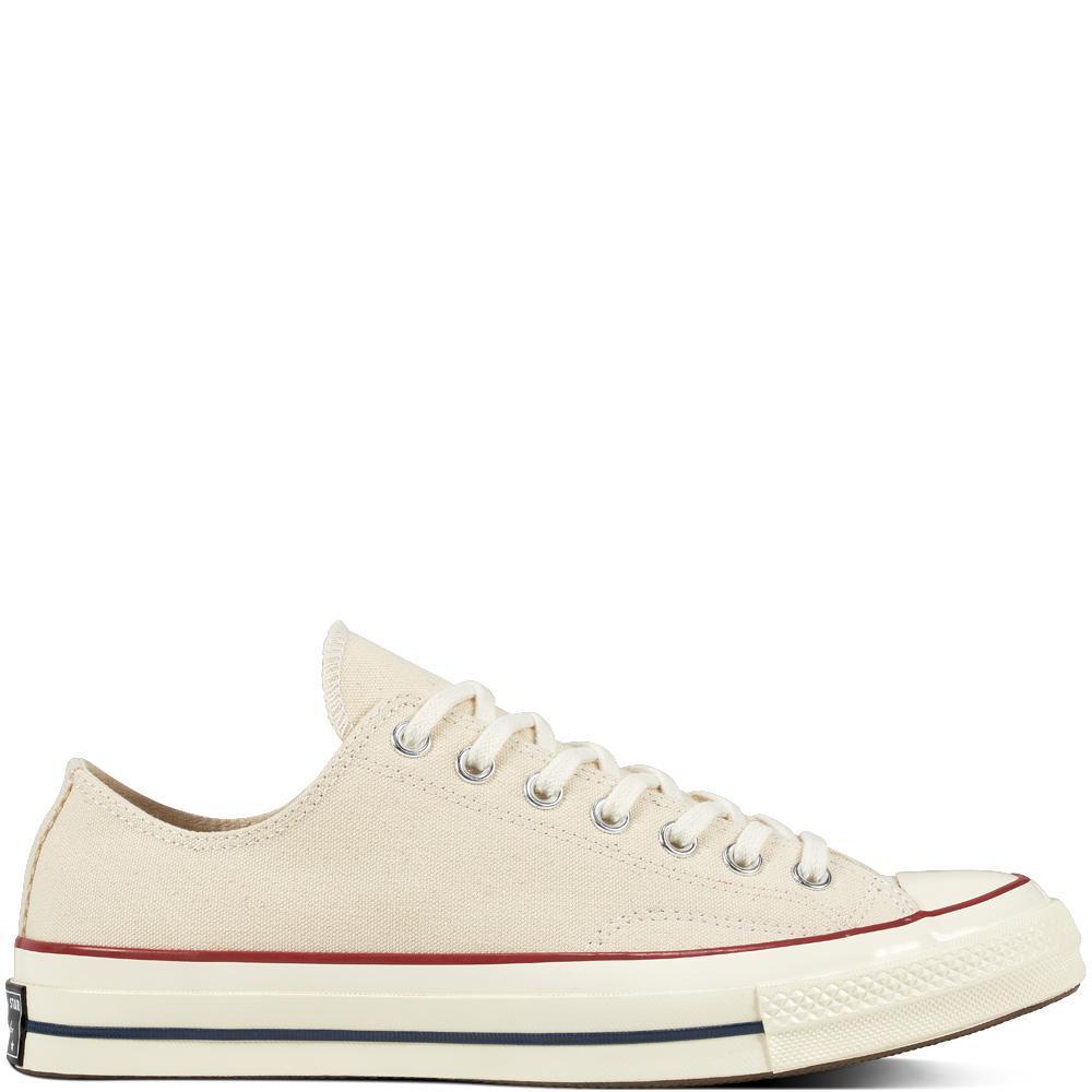 Converse Chuck 70 Classic Low Top Sepatu Sneakers Pria - Cream 4d1d51165a