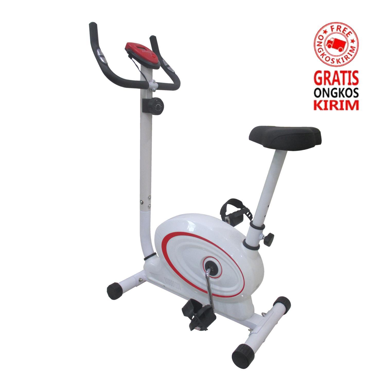 Total Fitness TL-8219 Sepeda Statis - Magnetic Bike - Sepeda Olahraga Fitness - Exercise bike (JABODETABEK Only)