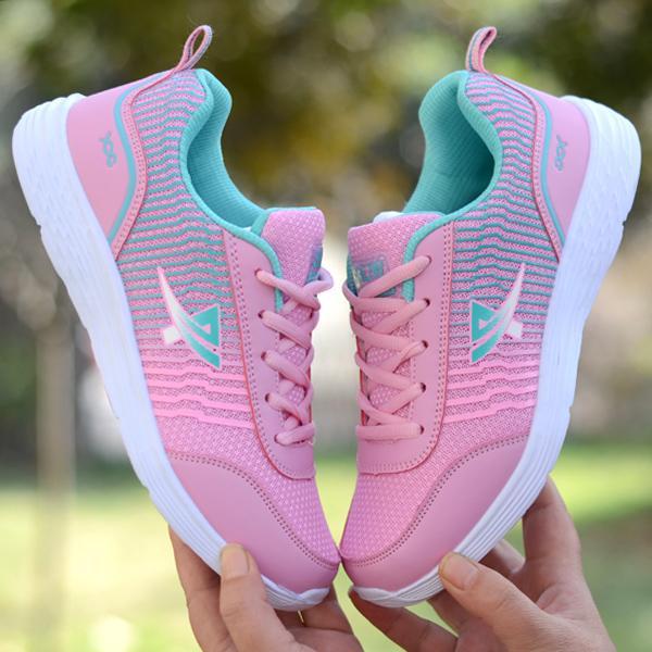 2018 Musim Semi Musim Panas Gaya Baru Sepatu Wanita Wanita Kasual Sepatu Daftar Sepatu Kulit Mie Atletik Sepatu Mahasiswa sepatu Wave Sepatu Lari Sepatu Tour Sepatu-Internasional