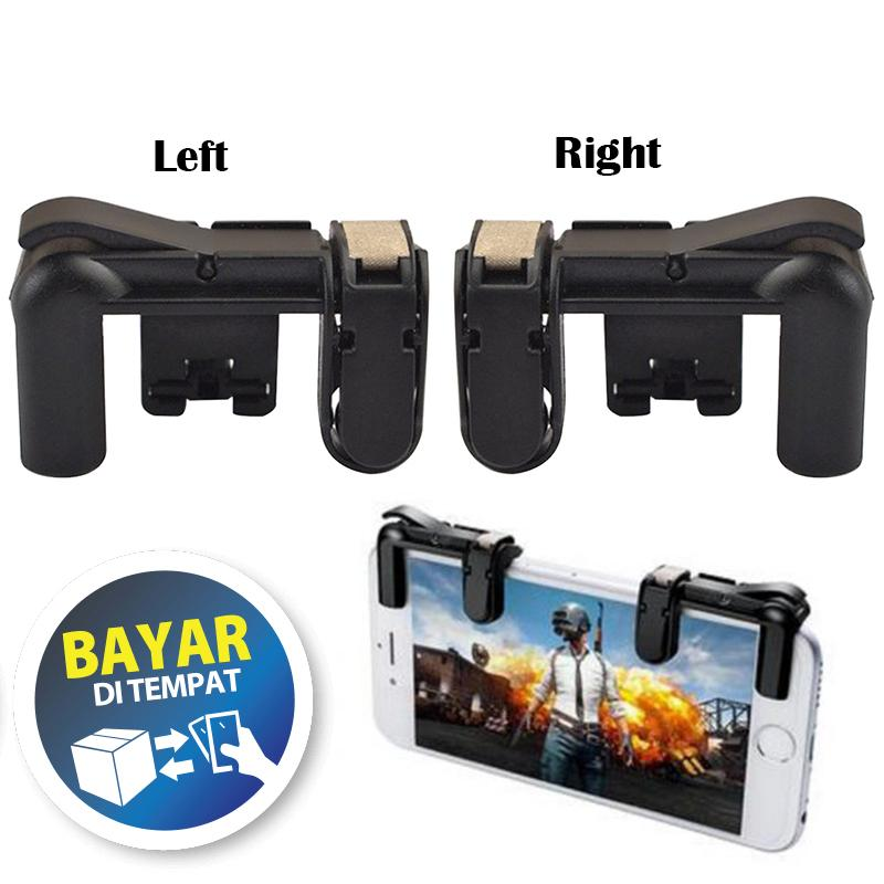 Button K01 L1r1 Mobile Joystick Pubg Aim Key Shooter Controller V3.0 - Hitam By All Item Store.