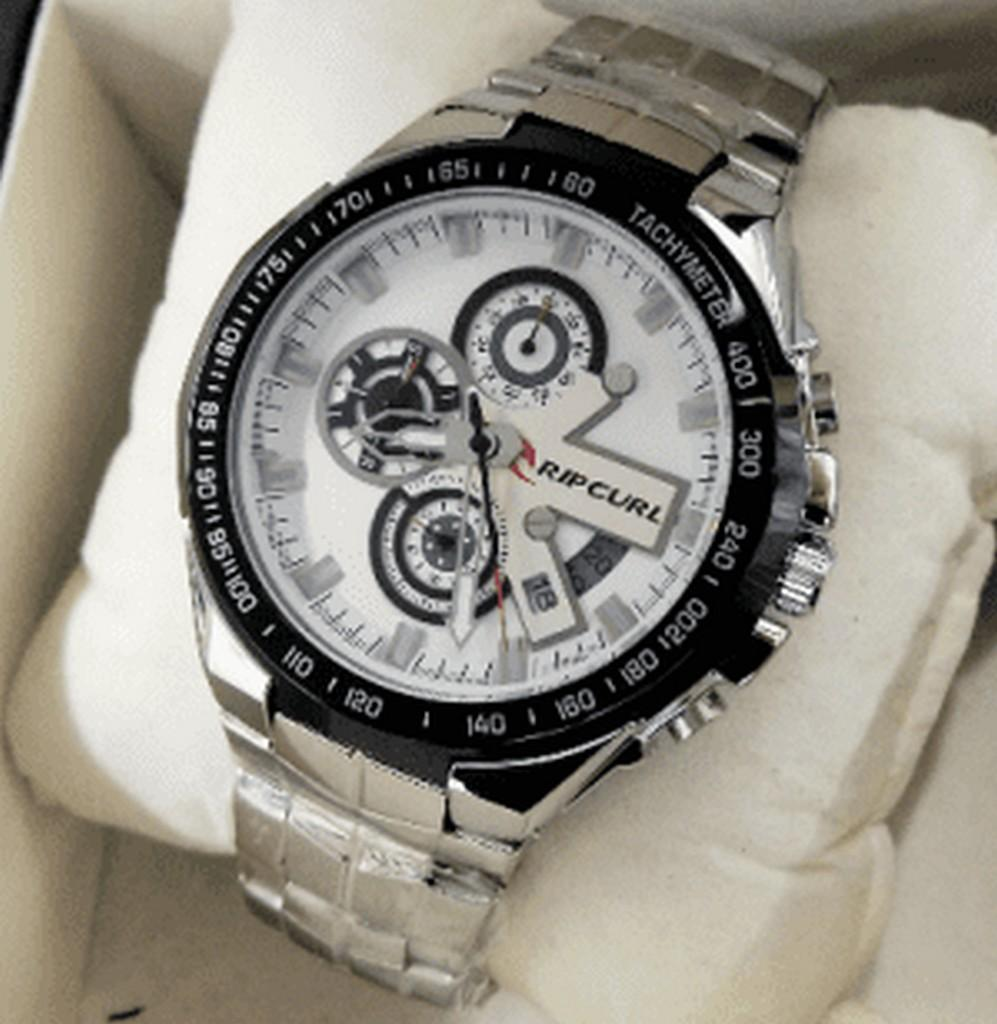 Jam Tangan Fashion Pria Ripcurl Rc7788 Zs Chronograph Stainless Guess W0674g6 Leather Black Rose Gold Cowok