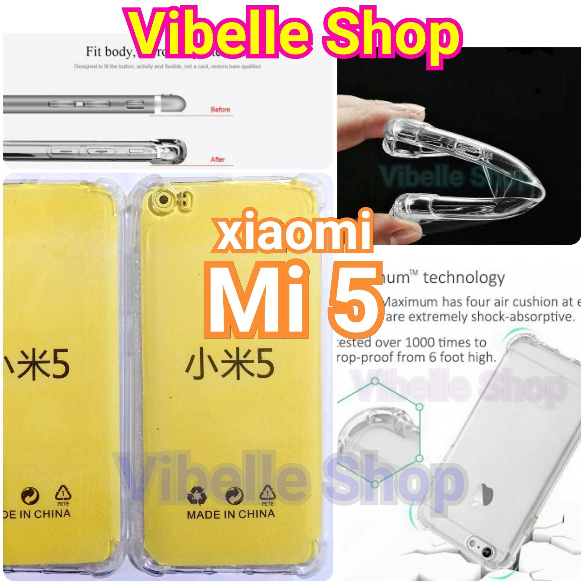 Softcase Anticrack Xiaomi Mi 5 - Clear - Anti Crack Soft Back Jely Shock Case xiaomi Mi 5