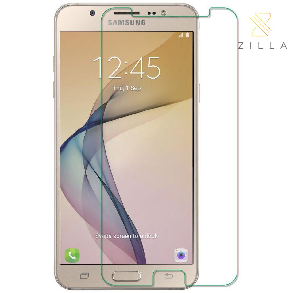 Tempered Glass Screen Protector / Anti Gores Kaca for Samsung Galaxy J7 Prime - Bening