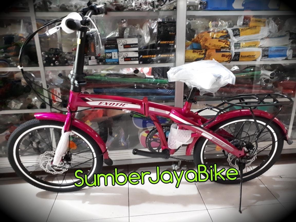 Promo!!!sepeda lipat anak & dewasa 20