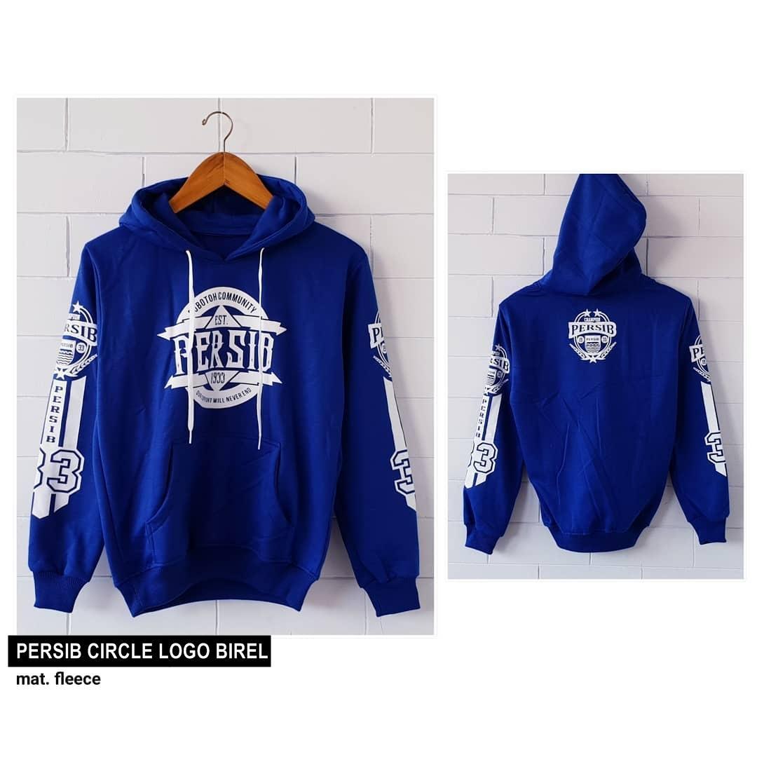 PERSIB CIRCLE LOGO ||| nouska shop ||| jaket sweater baju atasan blouse rajut hijab terbaru kekinia