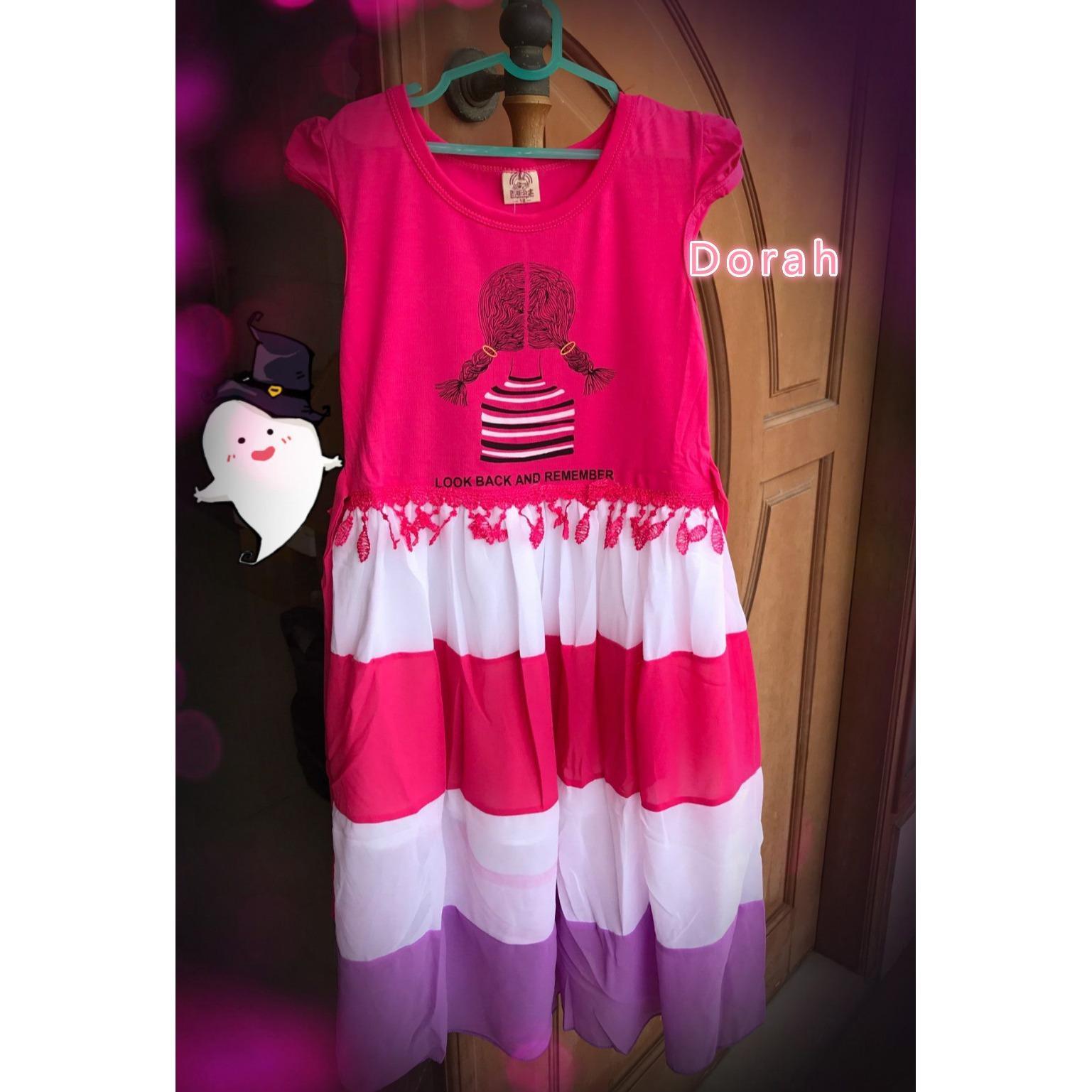 gaun Anak Perempuan /   Dress anak perempuan / gaun pesta anak / Dress hadiah ulang tahun 4.6.8.10th