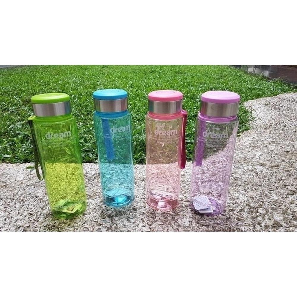 Botol Minum Infused Water Terbaik Minuman My Bottle 500ml Sama Pouch Air Dream 1000 Ml Sporty B028
