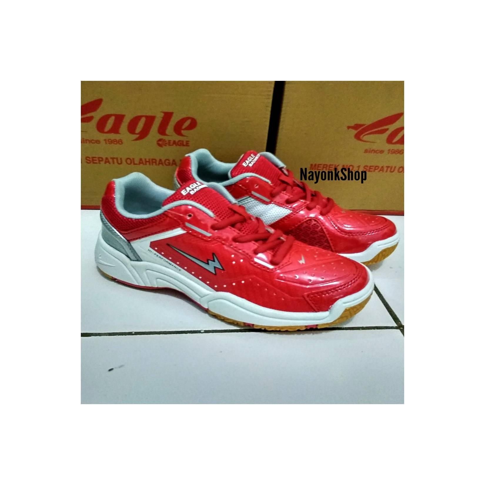 Jual Sepatu Badminton Anak Murah Garansi Dan Berkualitas Id Store Eagle Premier Jr Premiere Redidr368000 Rp 368000