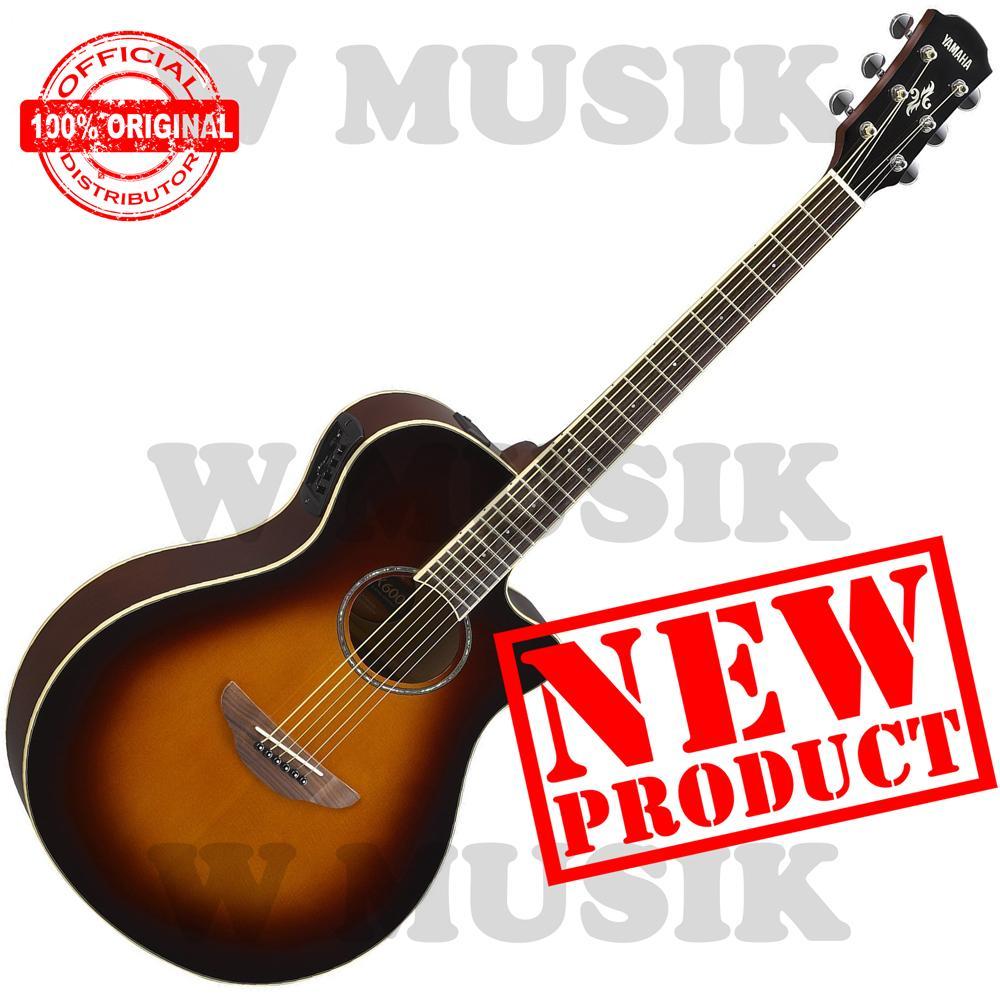Yamaha Gitar Akustik Elektrik APX 600 / APX600 / APX-600 - Old Violin Sunburst
