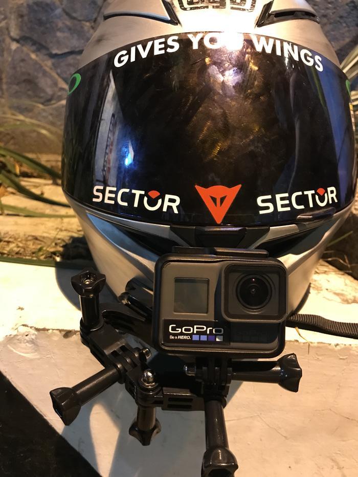 Promo Special Chin Mount Helm AGV K3 SV & Dagu Tidak Rata.Gopro,Bpro,Xiaomi original