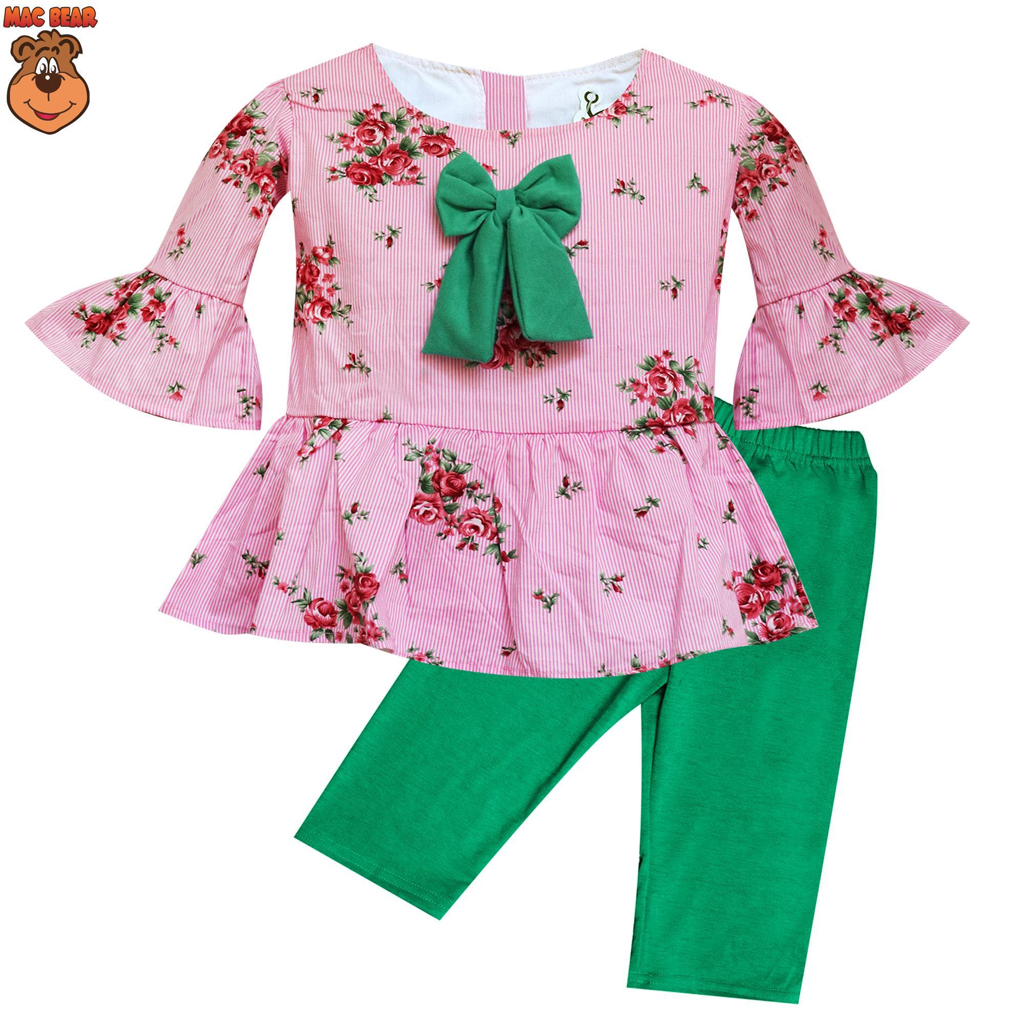 MacBee Baju Anak Setelan Harumi Flowers