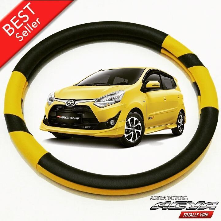 Cover Sarung Stir Setir Steer Mobil Toyota AGYA - Exclusive (All Warna)