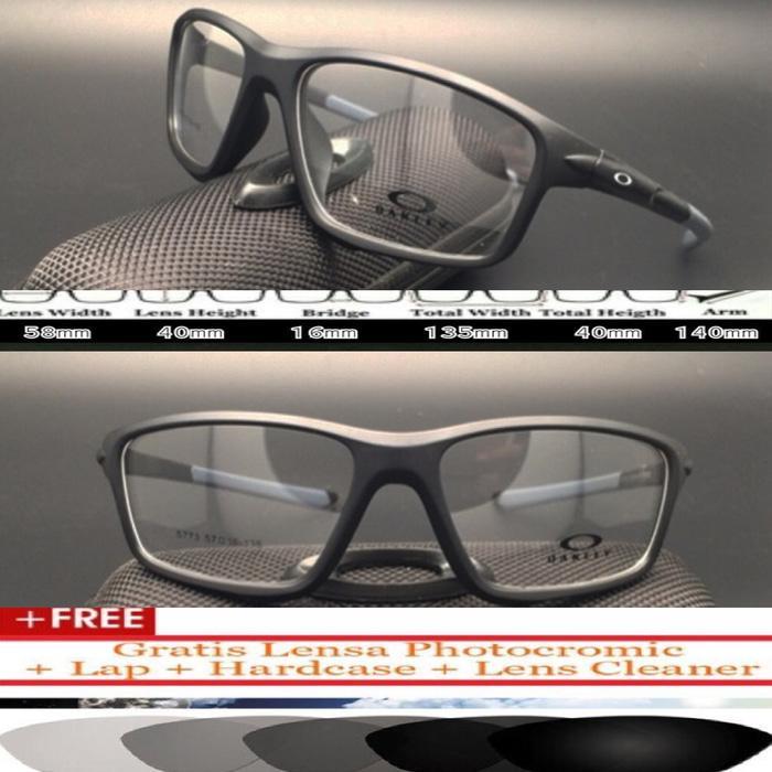 diskon 10%!! Kacamata \U002F Frame Oakley Crosslink Zero Matter Ducati Black Red - ready stock