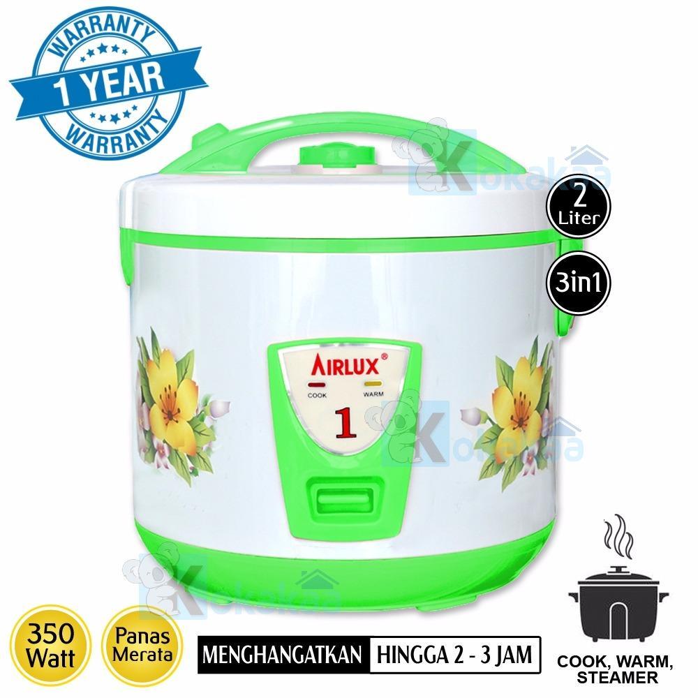 Airlux Rice Cooker 3 in1 Penanak Nasi 2.0 Liter RC-9218A Serbaguna