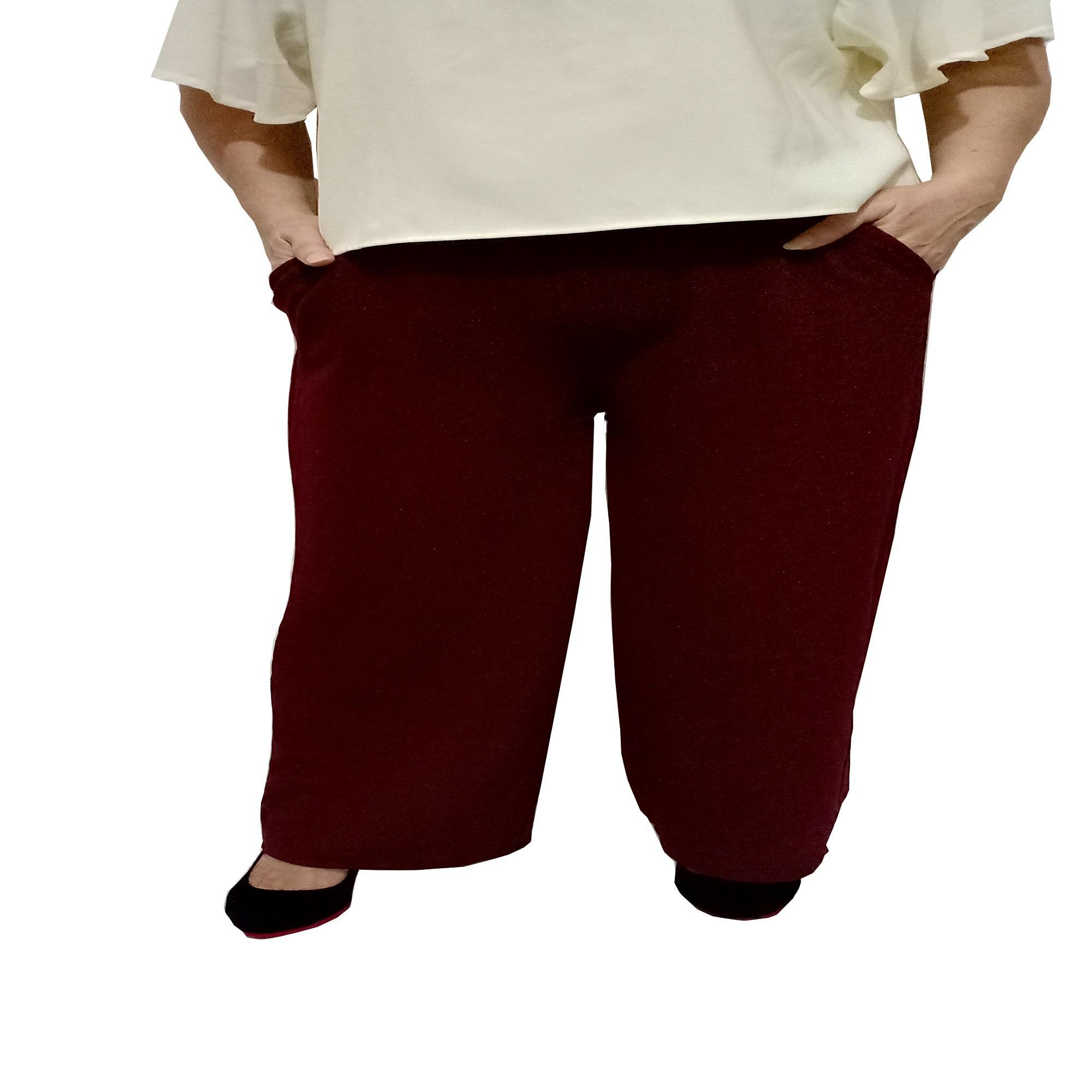 Ace Fashion Axel Cullote Pants Celana Kulot Wanita Pink Cek Harga Midi Nda Fjn822b Super Collection Long Cullotes Panjang Maroon
