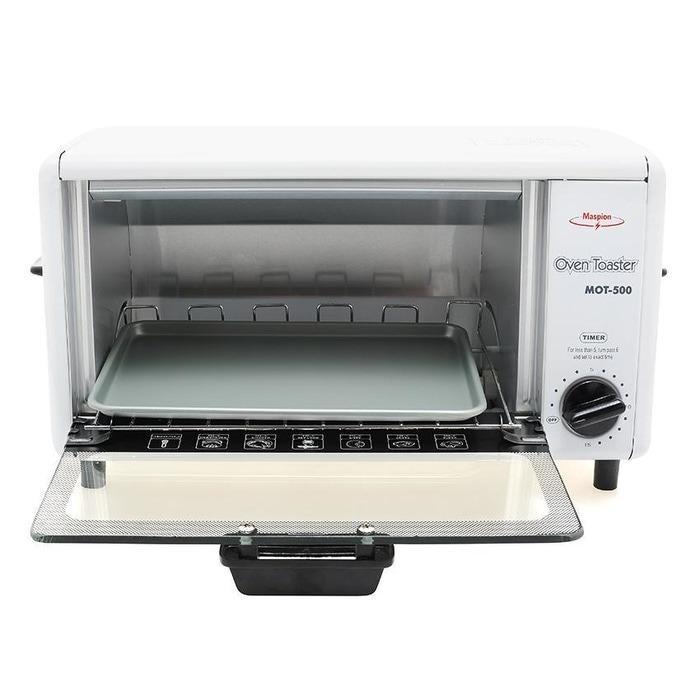 Oven Listrik Oven Toaster / Pemanggang Roti / Alat Panggang / Maspion / MOT 500
