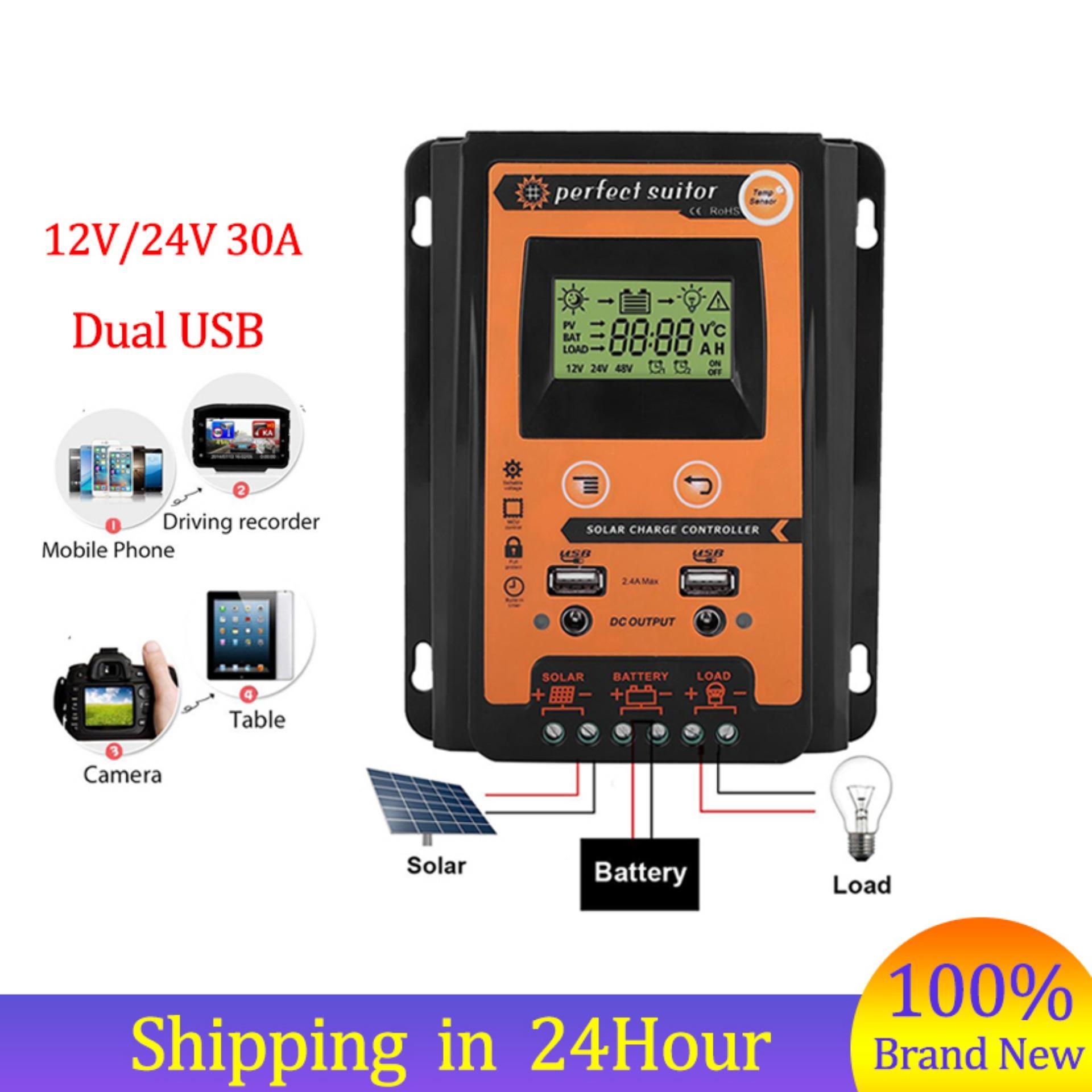 Buy Sell Cheapest Controller Kabel Pengatur Best Quality Product Speed Control Nankai Kecepatan Mesin Promotion12 V 24 30a Mppt Solar Beban Panel Surya