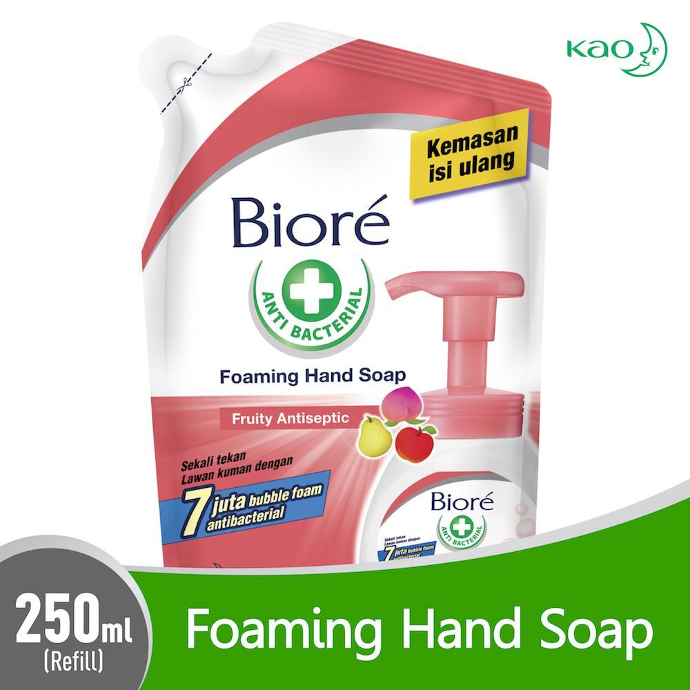 BIORE Hand Soap Fruity Refill 250ml