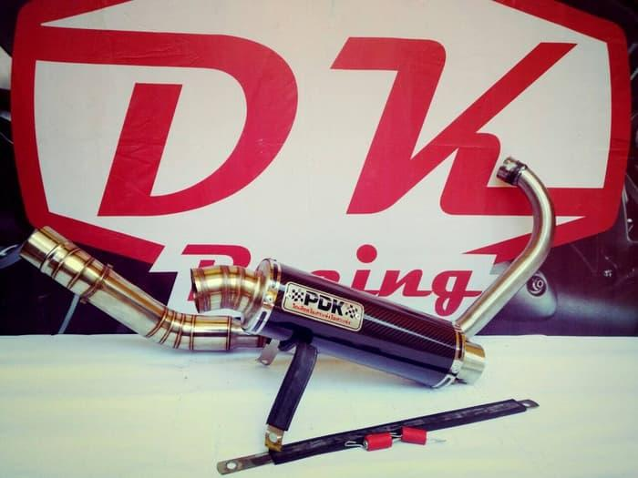 Knalpot Racing Yamaha Jupiter Mx King 150 Fullsistem Pdk Bulat High Quality