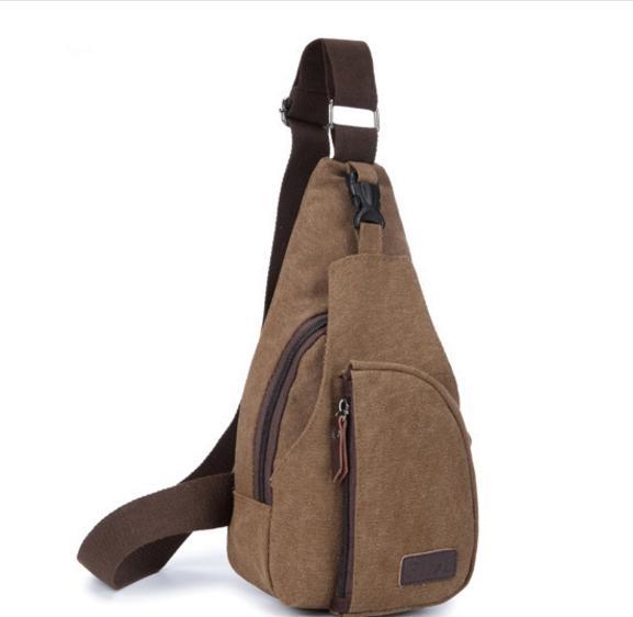 YUMA YOUNG - KANVAS Sling Bag Tas Selempang Pria Men Sling Shoulder Bags